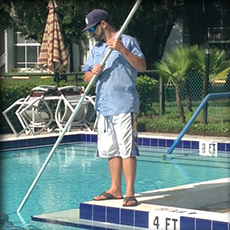 Professional pool maintenance services in Hudson, FL